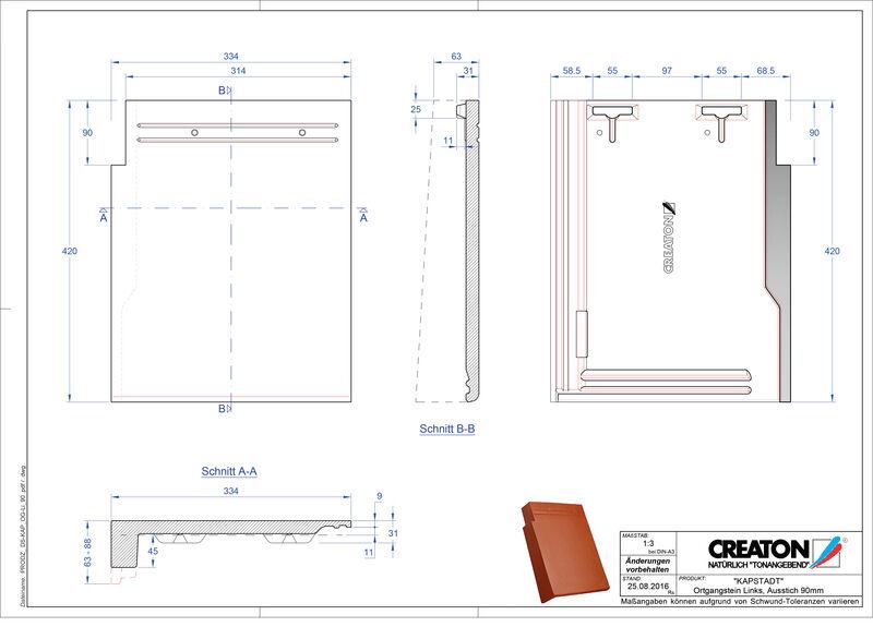 CAD datoteka izdelka KAPSTADT krajnik levi OGL-90