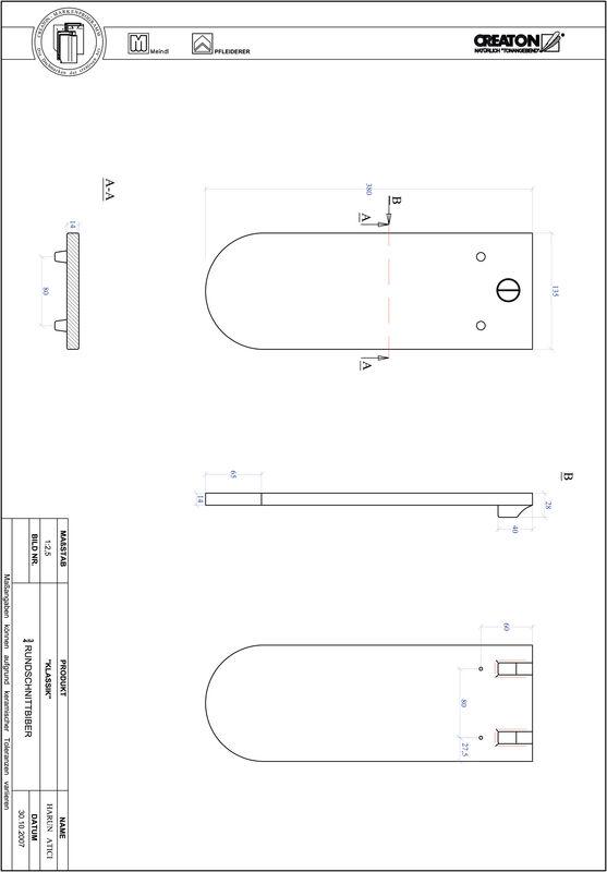 CAD datoteka izdelka KAPSTADT okrogla oblika RUND-3-4