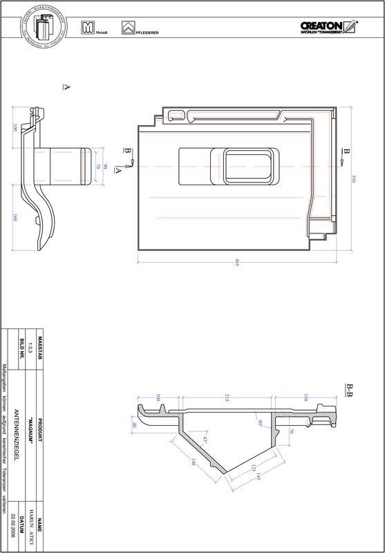 CAD datoteka izdelka MAGNUM Aerial ANTENNE