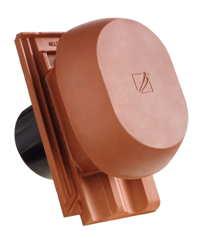 RATIO SIGNUM okroglo rezani SIGNUM keramični prezračevalnik DN 200 mm, vklj. adapter za povezavo pod streho