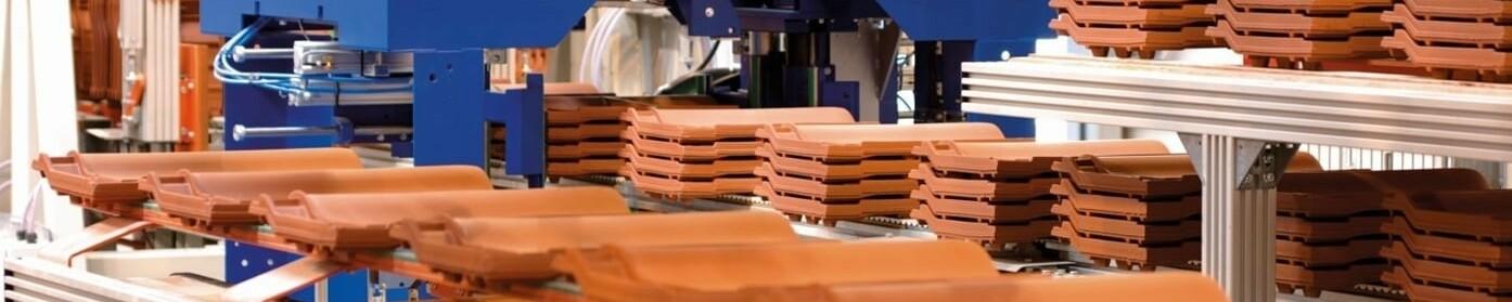 Postopek proizvodnje keramičnih strešnikov