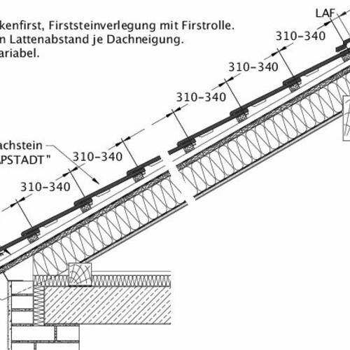 Tehnična skica izdelka KAPSTADT DQF LUEFT-EBENE-BDS