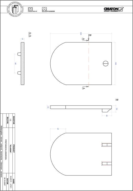 CAD datoteka izdelka KAPSTADT okrogla oblika RUND-FAZ