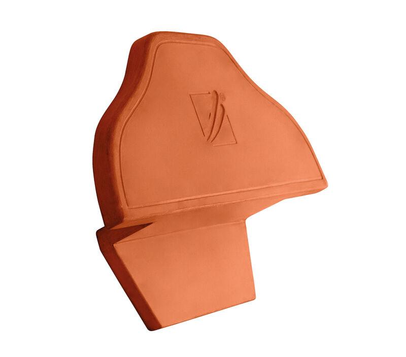 HÖN funkcijski slemenjak in zaključna slemenska keramična plošča PH