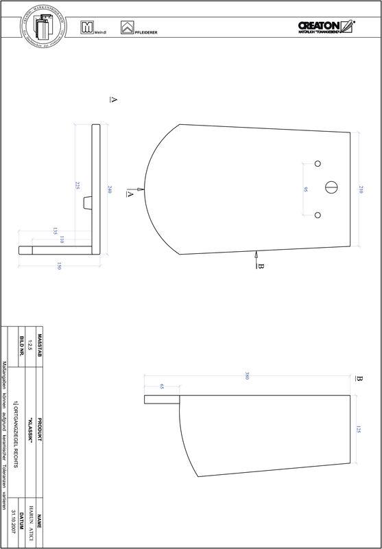 CAD datoteka izdelka KAPSTADT okrogla oblika RUND-OGR-1-1-4