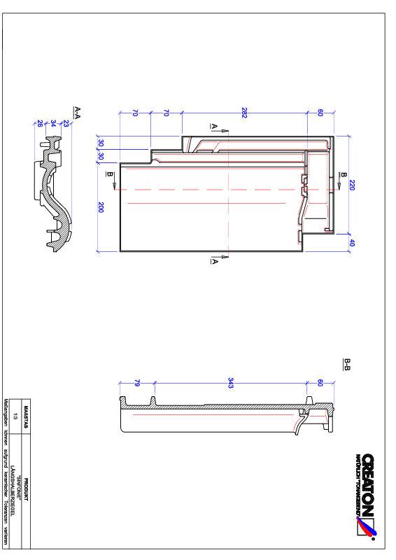 CAD datoteka izdelka SINFONIE polovička LH