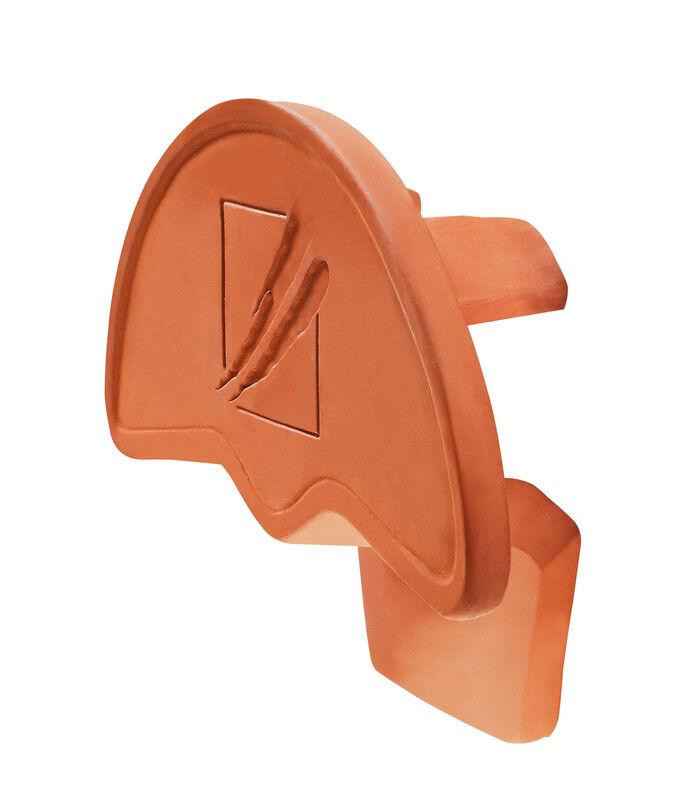 GOG funkcijski slemenjak in zaključna slemenska keramična plošča PF