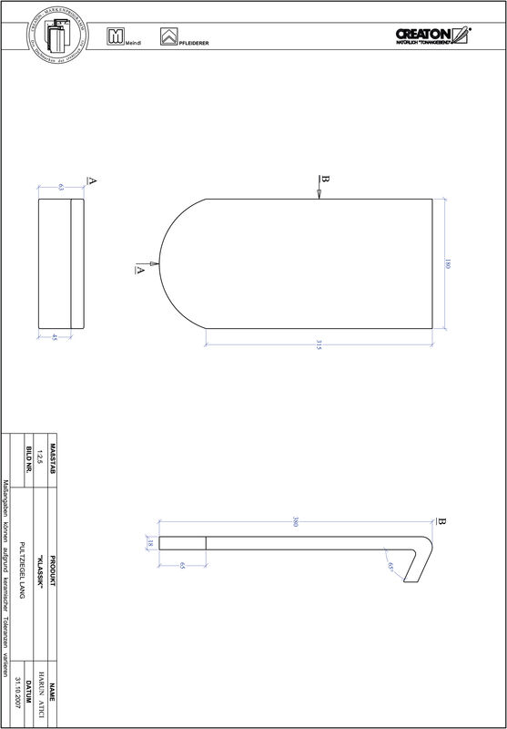 CAD datoteka izdelka KAPSTADT okrogla oblika RUND-PULT-lang1