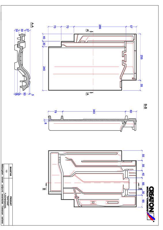 CAD datoteka izdelka SINFONIE strešnik FLA