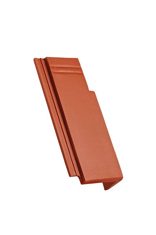 KAP betonski mansardni priključni krajnik desni 120 mm zareza