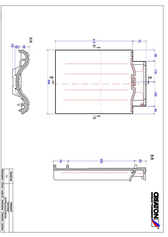 CAD datoteka izdelka SINFONIE dvovalovnik DWZ