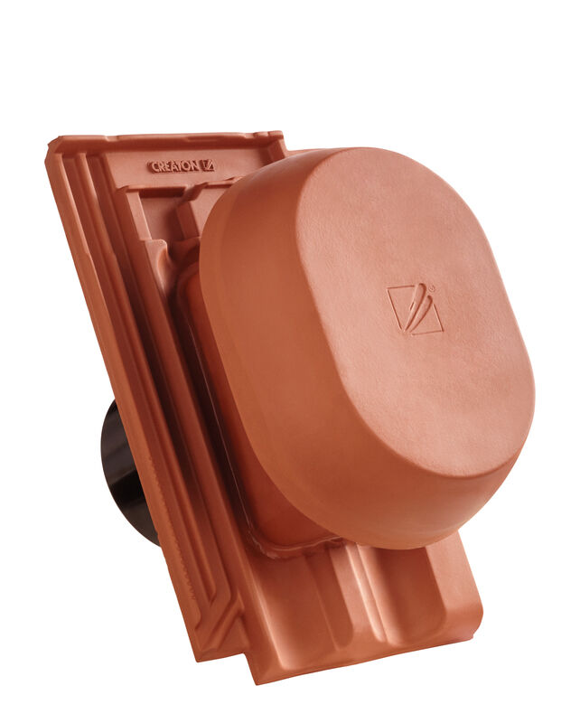RATIO SIGNUM keramični prezračevalnik DN 150/160 mm vklj. adapter za pod streho
