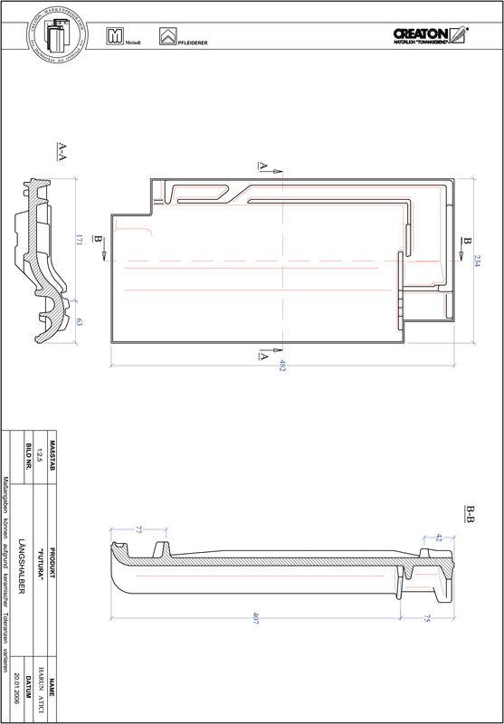 CAD datoteka izdelka FUTURA polovička LH