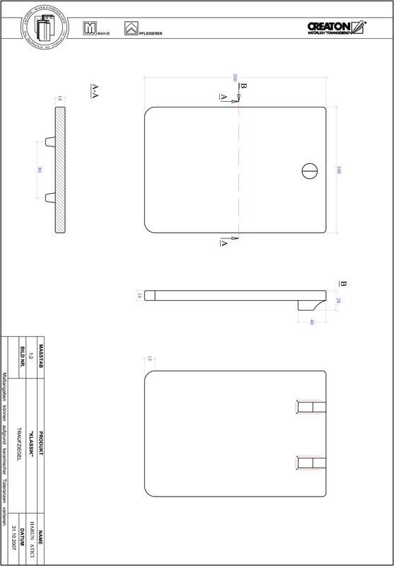 CAD datoteka izdelka KAPSTADT okrogla oblika RUND-TRAUFZIEGEL