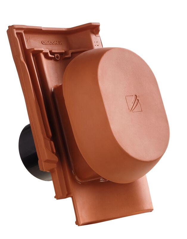 SIN SIGNUM keramični prezračevalnik DN 150/160 mm vklj. adapter za pod streho