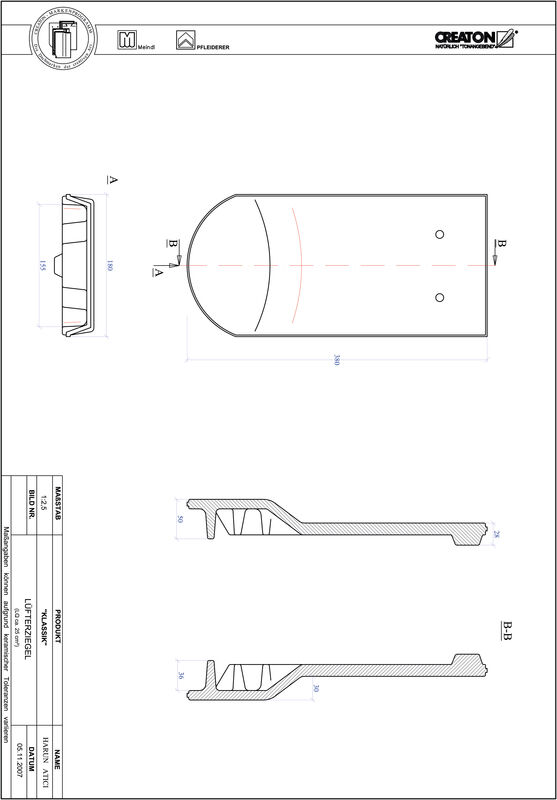 CAD datoteka izdelka KAPSTADT okrogla oblika RUND-LUEFTZ