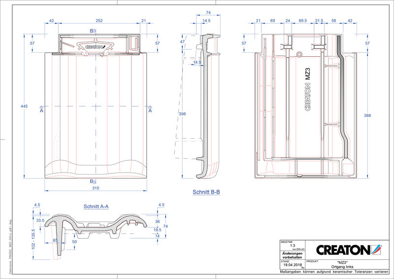 CAD datoteka izdelka MZ3 NEU krajnik levi OGL