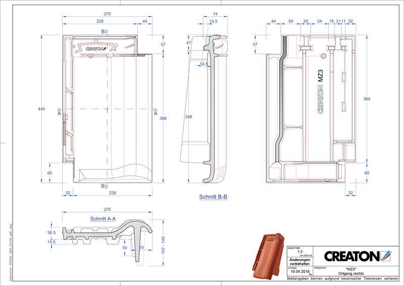 CAD datoteka izdelka MZ3 NEU krajnik desni OGR