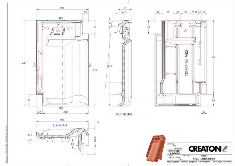 CAD datoteka izdelka MZ3 NEU slemenski priključni zračnik desni FALOGR