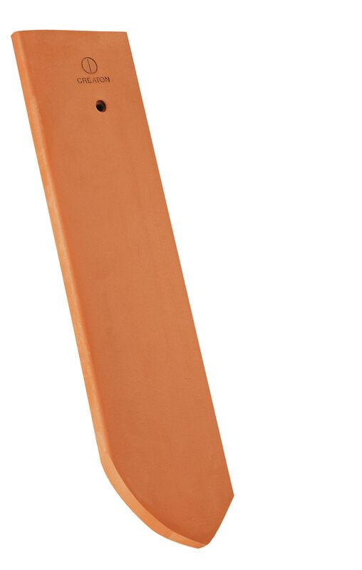 KLASSIK zaobljen rez strešnik polovične širine