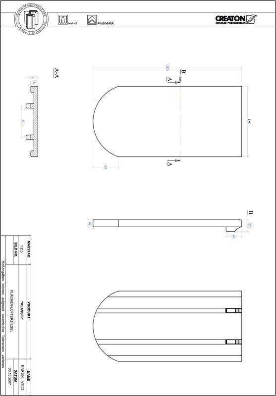 CAD datoteka izdelka KAPSTADT okrogla oblika RUND-FLUEFTZ