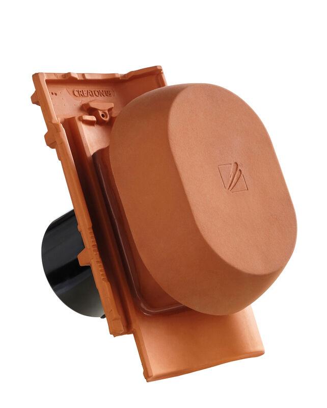 MEL SIGNUM keramični prezračevalnik DN 150/160 mm vklj. adapter za pod streho