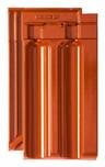 FINESSE rdeča glazirana