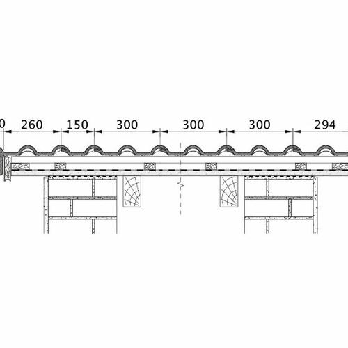 Tehnična skica izdelka HEIDELBERG ORL PROFILIERTE-BDS