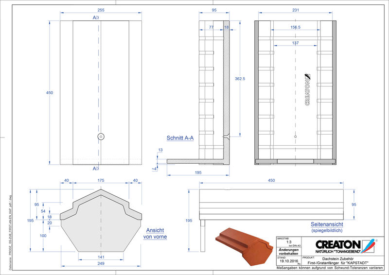 CAD datoteka izdelka KAPSTADT dodatki FIRST-First-AN-EN