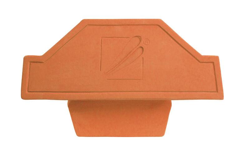 GOG funkcijski slemenjak in zaključna slemenska keramična plošča PD