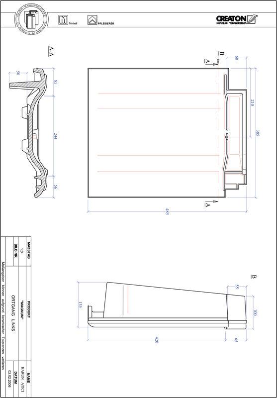 CAD datoteka izdelka MAGNUM krajnik levi OGL