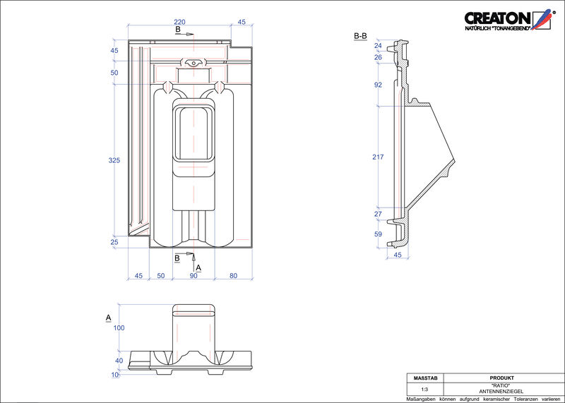 CAD datoteka izdelka RATIO Aerial ANTENNE