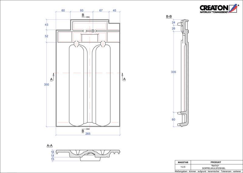 CAD datoteka izdelka RATIO dvovalovnik DWZ