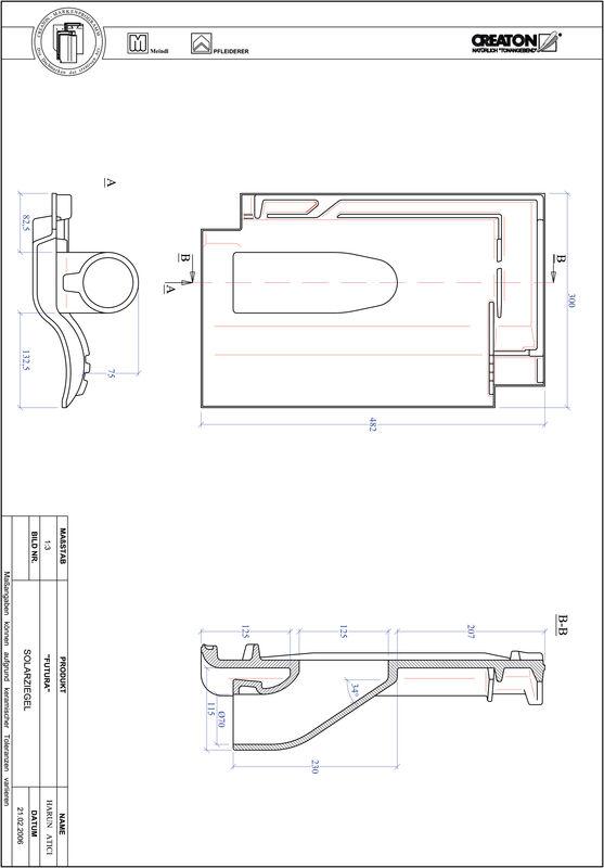 CAD datoteka izdelka FUTURA Solar SOLAR