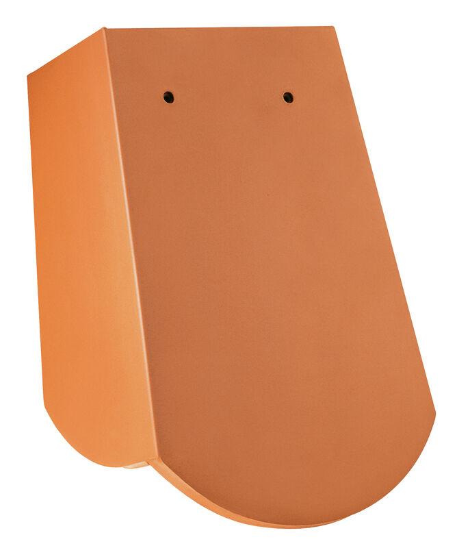 Šaški bobrovec, 18 x 38 x 1.2 z 3 brazdami, segmentna oblika zračni strešnik, drsni rob s kratko stransko enoto pribl. 5 cm desno