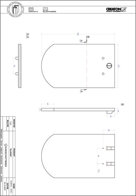 CAD datoteka izdelka KAPSTADT okrogla oblika RUND-1-1-4