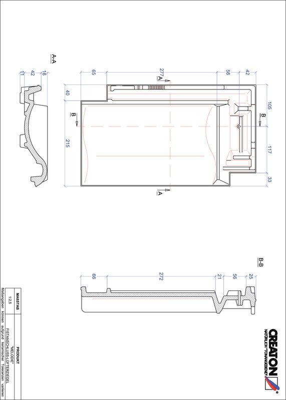 CAD datoteka izdelka MELODIE slemenski priključni zračnik FALZ
