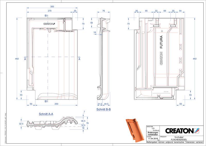 CAD datoteka izdelka FUTURA strešnik FLA