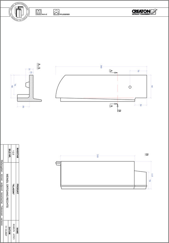 CAD datoteka izdelka KAPSTADT okrogla oblika RUND-OGR