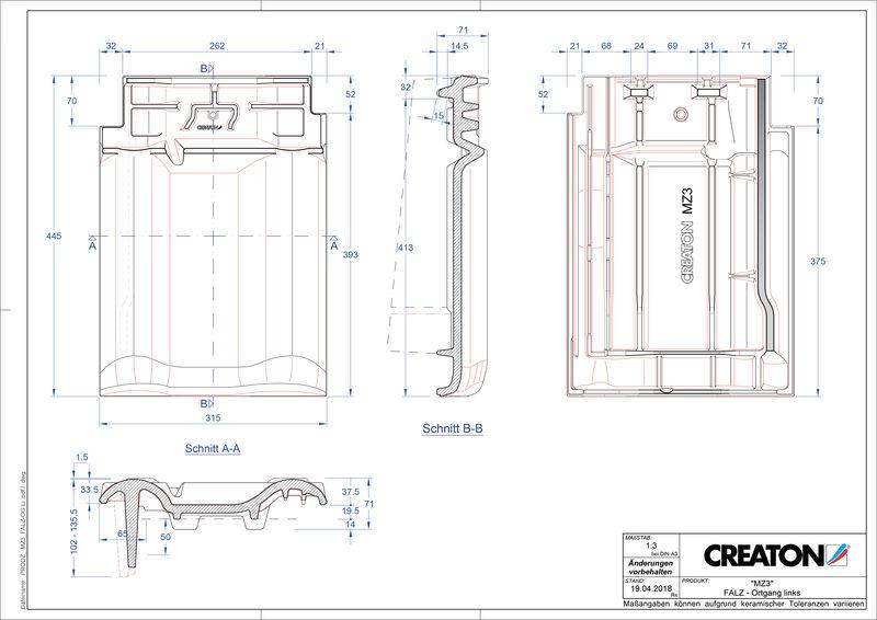 CAD datoteka izdelka MZ3 NEU slemenski priključni zračnik levi FALOGL