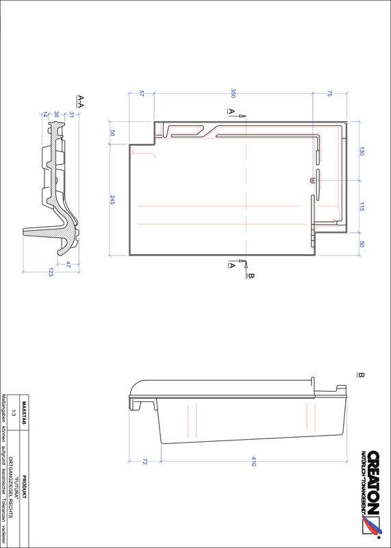 CAD datoteka izdelka FUTURA krajnik desni OGR