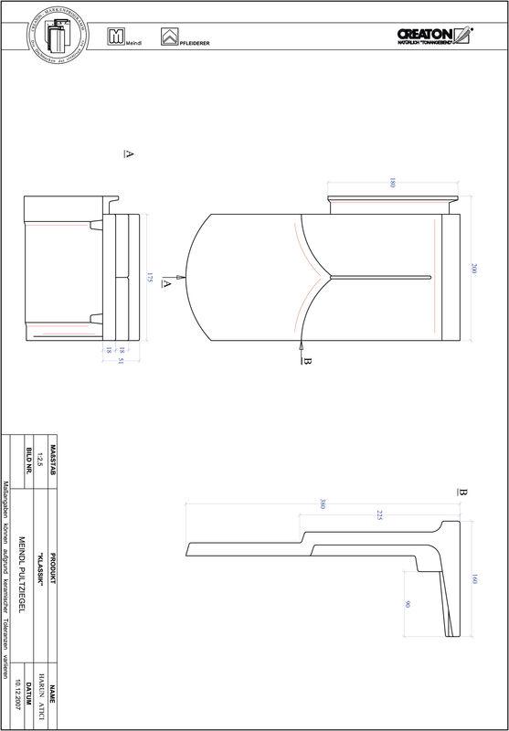 CAD datoteka izdelka KAPSTADT okrogla oblika RUND-PULT