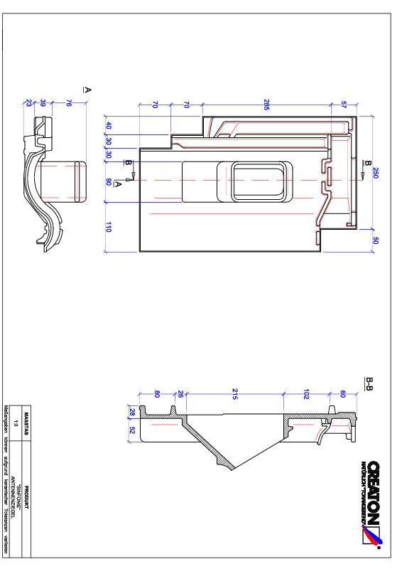 CAD datoteka izdelka SINFONIE Aerial ANTENNE