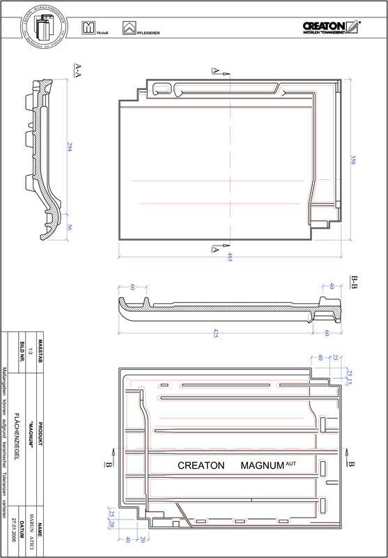CAD datoteka izdelka MAGNUM strešnik FLA
