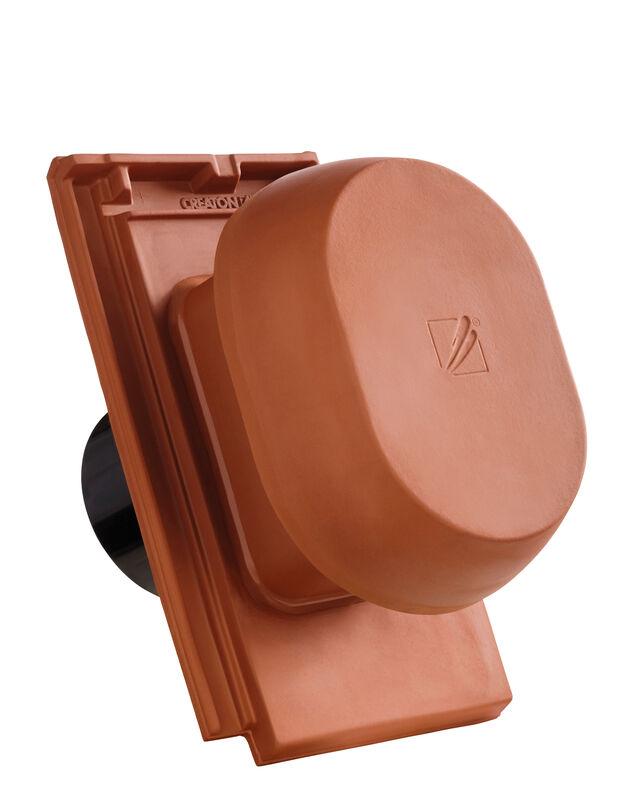 DOM SIGNUM keramični prezračevalnik DN 150/160 mm vklj. adapter za pod streho