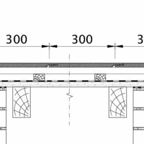 Tehnična skica izdelka KAPSTADT ORL EBENE-BDS-2