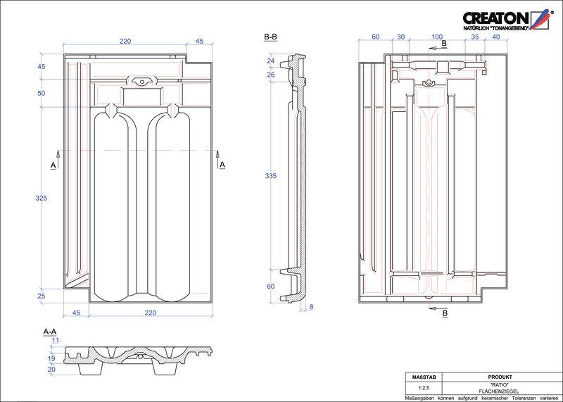 CAD datoteka izdelka RATIO strešnik FLA
