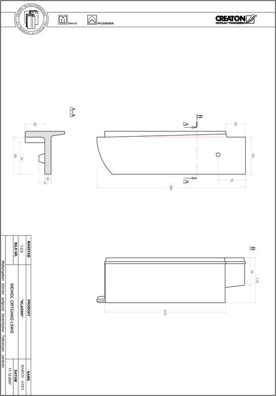 CAD datoteka izdelka KAPSTADT okrogla oblika RUND-OGL