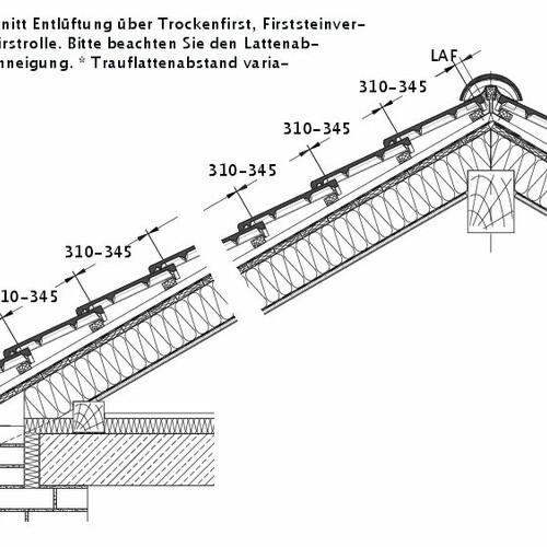 Tehnična skica izdelka HEIDELBERG DQF LUEFT-PROFILIERTE-BDS