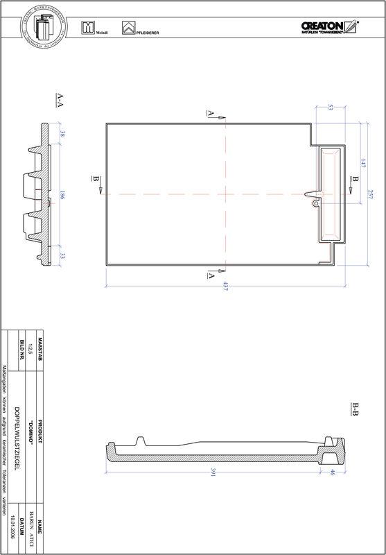 CAD datoteka izdelka DOMINO dvovalovnik DWZ